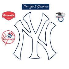 How Do You Want Fathead New York Yankees Ny Logo Wall Decal Maryhughesohq