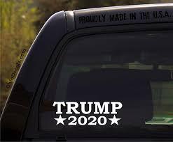 Amazon Com Ohiodecals Com Trump 2020 Presidential Election Republican Political Window Sticker Decal Automotive
