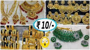 artificial jewellery market jewellery