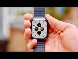apple watch series 5 black titanium