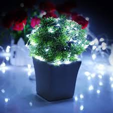 Dây đèn led fairy đom đóm xài pin 2m ánh sáng trắng - Đèn trang ...