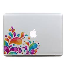 Shop Geekid Spray Macbook Decal Sticker Partial Decal Macbook Pro Decal Macbook Air Decal Apple Sticker Mac Retina Decals Stickers Online From Best Laptop Accessories On Jd Com Global Site Joybuy Com