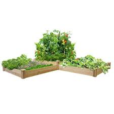 Greenes Fence 4 Ft X 12 Ft Two Tiers Original Cedar Raised Garden Bed Rc4t4s24b With Images Cedar Raised Garden Beds Vegetable Garden Raised Beds Diy Raised Garden