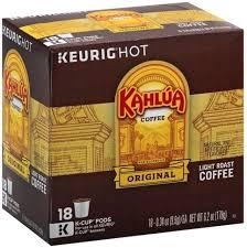 light roast k cup pods coffee 18 ea