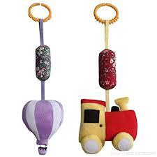 baby crib stroller toys set of 2