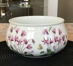 napco ceramic white flowers and garden