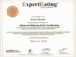 expertrating advanced makeup artist