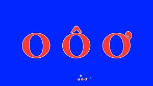bài hát] o ô ơ - Bé học chữ o ô ơ - YouTube