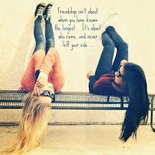 your truest realist friend will never leave even though everyone