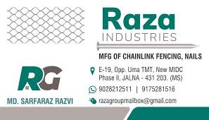 Chain Link Fence Barbed Wire Iron Nails At Best Price Chain Link Fence Barbed Wire Iron Nails By Raza Industries In Mumbai Justdial