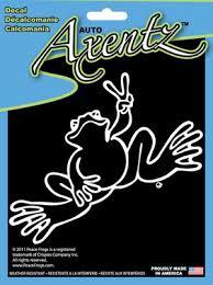Chroma Peace Frog Axentz Decal Auto Art Walmart Com Walmart Com
