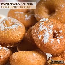 homemade doughnut recipe over the