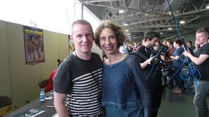 """MICHAEL FLYNN on Twitter: """"Meeting the lovely Colette Hiller at LFCC today  http://t.co/rmsZFpjta5"""""""