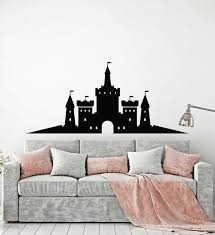 Vinyl Wall Decal Medieval Castle Tower Fairy Tale Child Room Stickers Wallstickers4you