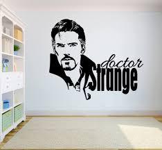Amazon Com Marvel Comics Wall Vinyl Decal Dr Strange Hero Logo Wall Art Superhero Vinyl Sticker Decor For Home Childroom Design Bedroom Poster Mar8 26x22 Kitchen Dining
