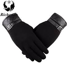 mens leather gloves thinsulate soft