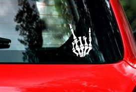 Rock On Vinyl Car Decal Sticker For Your Car Laptop Decal Etsy In 2020 Car Decals Vinyl Car Decals Laptop Decal