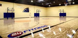 anytime fitness basketball court