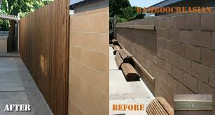 Bamboo Fence Bamboo Fencing Carbonized Split Bamboo Fence