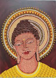 Meditative Buddha Mixed Media by Pooja Malhotra