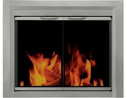 pleasant hearth fireplace doors