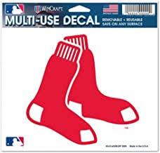 Amazon Com Boston Red Sox Car Window Sticker