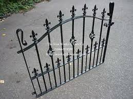 French Garden Gate 36 Op 42 Tall Heavy Ornate Small Wrought Iron Metal Anysize Ebay