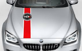 Product Mass Effect N7 Logo Systems Alliance Navy Alliance Special Forces Hood Decals Stickers