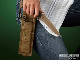 how to conceal a self defense knife for