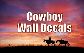 Funky Cowboy Wall Decals For Any Western Theme