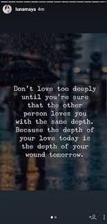 luna a jangan mencintai seseorang terlalu dalam