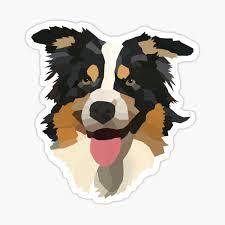 Australian Shepherd Stickers Redbubble