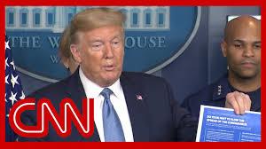 Trump announces tougher coronavirus guidelines - YouTube