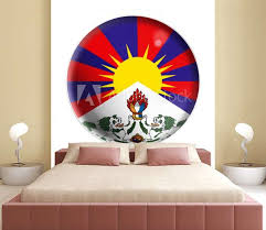Tibet Wall Mural Wallpaper Murals Wallsheaven Pandore