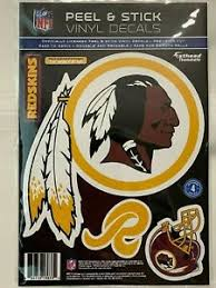 Washington Redskins Helmet Fathead Teammate 3 Wall Decal 7 5x7 5 Ebay