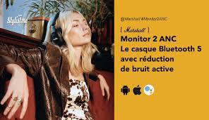 Marshall Monitor 2 ANC test avis prix casque vintage à réduction de bruit