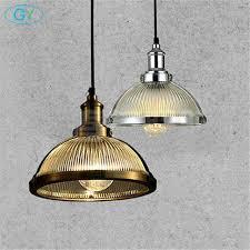 retro vintage pendant lights clear