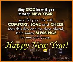 a wish for god s blessings to make the new year filled joy