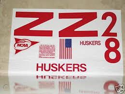 Nebraska Football Vinyl Decals Huskers Ncaa Big12 73355577