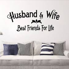 Best Friends For Life Husband Wife Wall Art Decal Quote Words Lettering Decor Friend Charm Friends Cakefriends Red Aliexpress