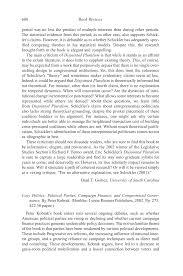 The Journal of Politics 65:02 Book Reviews