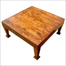 shaker style square coffee table made