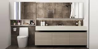 bathroom mirror cabinet bc17 pvc01