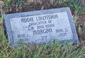 MORGAN, ADDIE LOUTISHIA - Johnson County, Arkansas | ADDIE LOUTISHIA MORGAN  - Arkansas Gravestone Photos