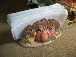 Pumpkin Patch Tableware Picket Fence Napkin Holder Colorful Etsy Colorful Ceramics Tableware Ceramic Tableware
