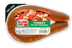 turkey polska kielbasa hillshire farm