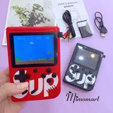 Máy chơi Game 4 nút cầm tay 400 trò Máy chơi game SUP 400 game Máy chơi  game cầm tay G1 plus