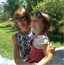 Anna Wintour dotes on her step-granddaughter in Instagram snap | Daily Mail  Online