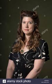 American author of young adult fiction Maureen Johnson, pictured ...