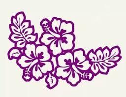Hibiscus Flower Window Sticker Vinyl Decal Hawaii Aloha Tropical Beach Ocean Ebay
